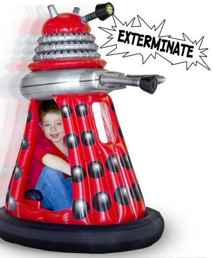 Ride-in Talking Dalek (Rechargeable)