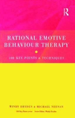 Rational Emotive Behaviour Therapy by Windy Dryden image