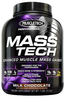 MuscleTech Performance Series Mass Tech - Strawberry (3.2kg)