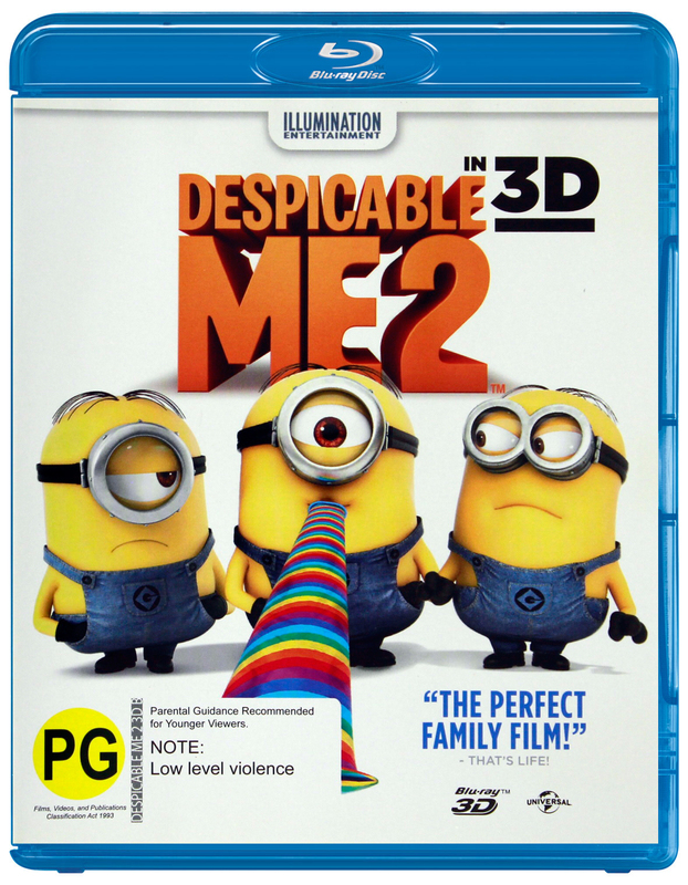 Despicable Me 2 in 3D on Blu-ray, 3D Blu-ray