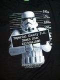 Star Wars - Stormtrooper Mug Shot Male T-Shirt (XL)