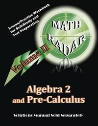 Algebra 2 and Pre-Calculus (Volume II) by Aejeong Kang