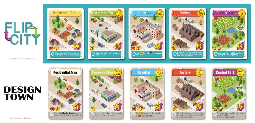 Flip City - Card Game image