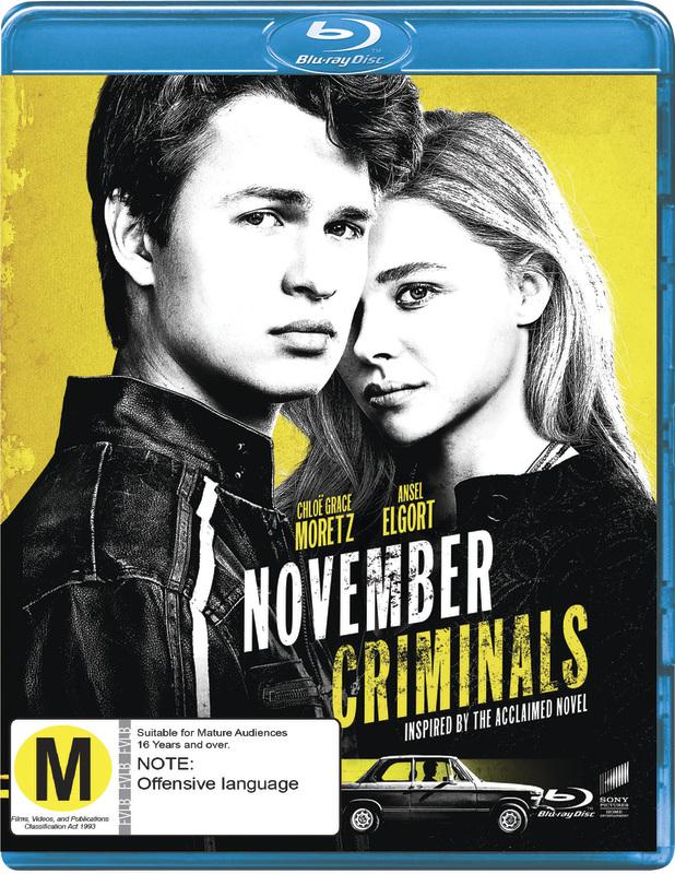 November Criminals on Blu-ray