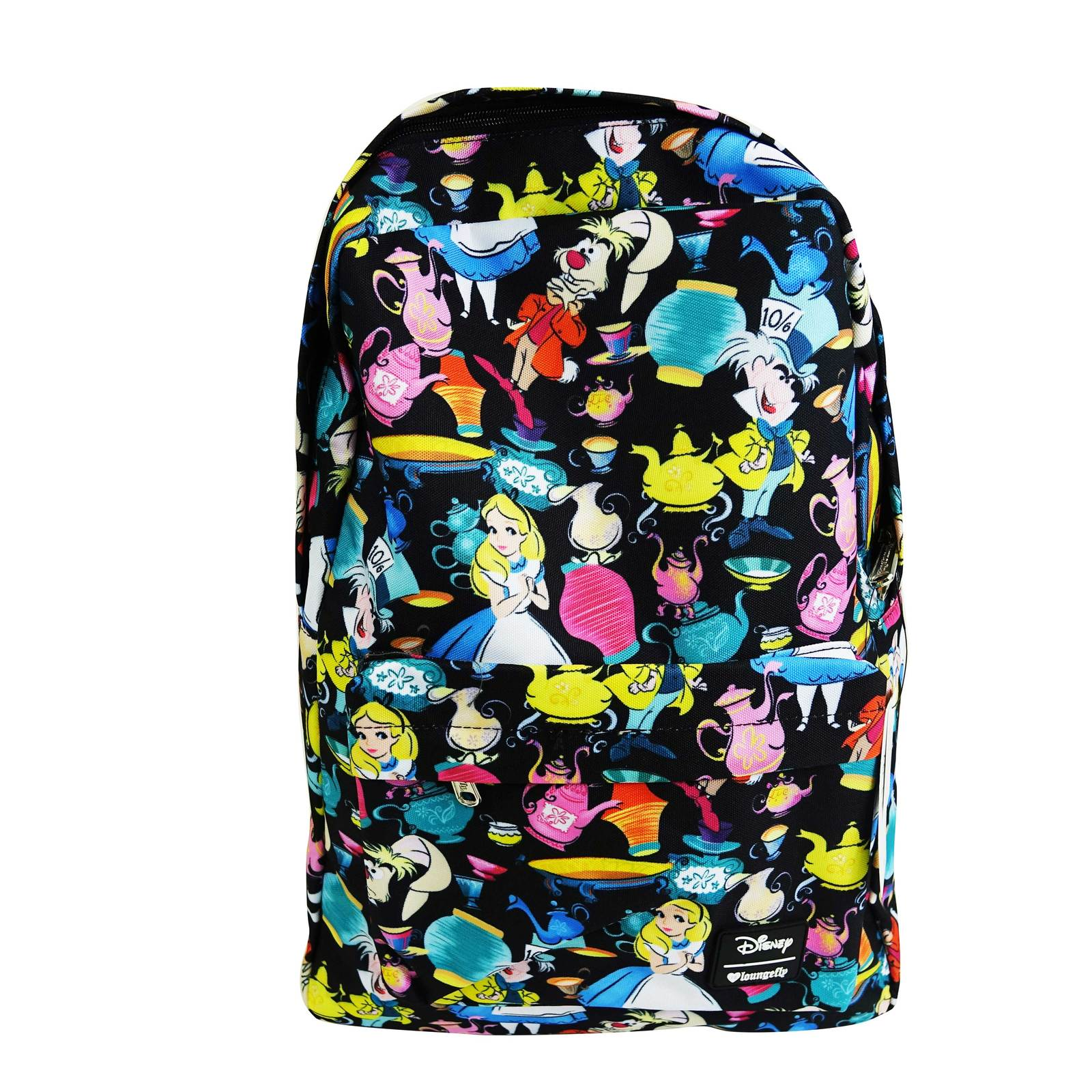 ab3c9a807c Loungefly Disney Alice Black AOP Backpack image ...