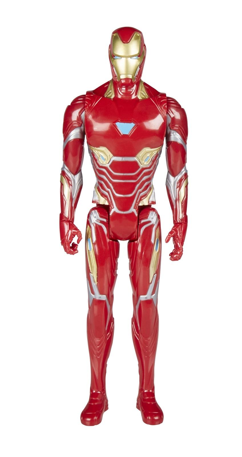 "Avengers Infinity War: Power FX Iron-Man - 12"" Titan Hero Figure image"