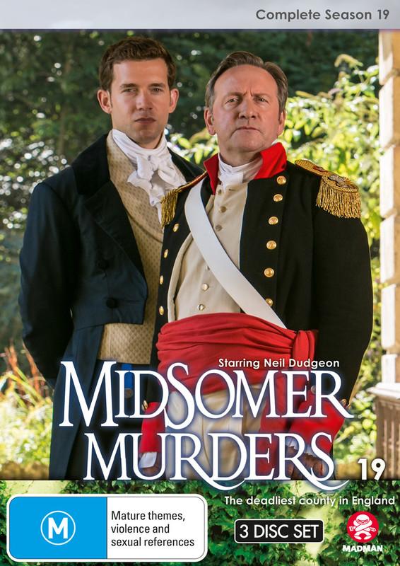 Midsomer Murders: Complete Season 19 on DVD