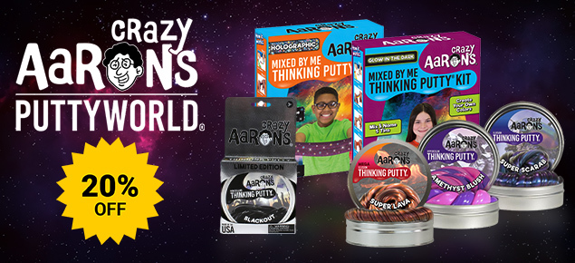 20% off Crazy Aarons!
