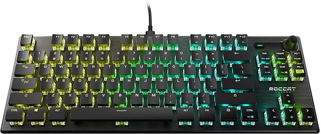 ROCCAT Vulcan PRO TKL Compact Mechanical RGB Gaming Keyboard for PC