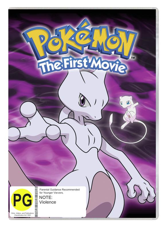 Pokémon: The First Movie: Mewtwo Strikes Back on DVD