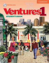 Ventures 1 Student's Book with Audio CD: No. 1 by Dennis Johnson image