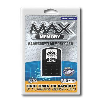 Datel 64 MB Memory Card for PS2