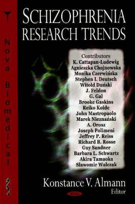 Schizophrenia Research Trends