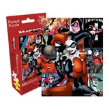 DC Comics: 100pc Harley Quinn Retro Collage Pocket Puzzle