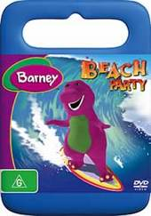 Barney: Beach Party on DVD