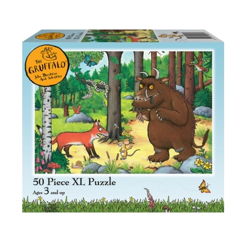 Holdson: Kids Gruffalo - Why Fox Hello 50 Piece XL Puzzle image