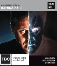 Raising Cain on Blu-ray