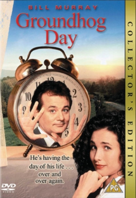 Groundhog Day on DVD image