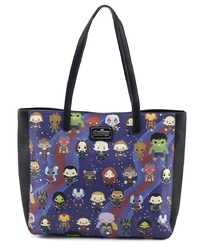 Loungefly x Marvel Avengers Infinity War: Kawaii Print - Tote Bag