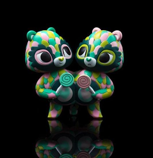 Horrible Adorables - Share Bear Vinyl Mini-Figure