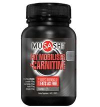 Musashi: Fat Mobiliser + Carnitine (75 caps)