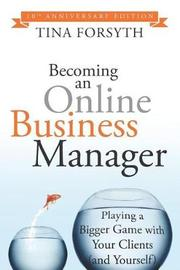 Becoming an Online Business Manager by Tina Forsyth