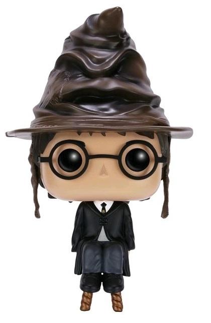 Harry Potter - Sorting Hat Harry Pop! Vinyl Figure image