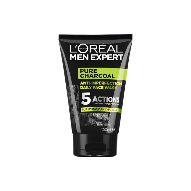 L'Oreal Men Expert - Pure Power Charcoal Wash (100ml)