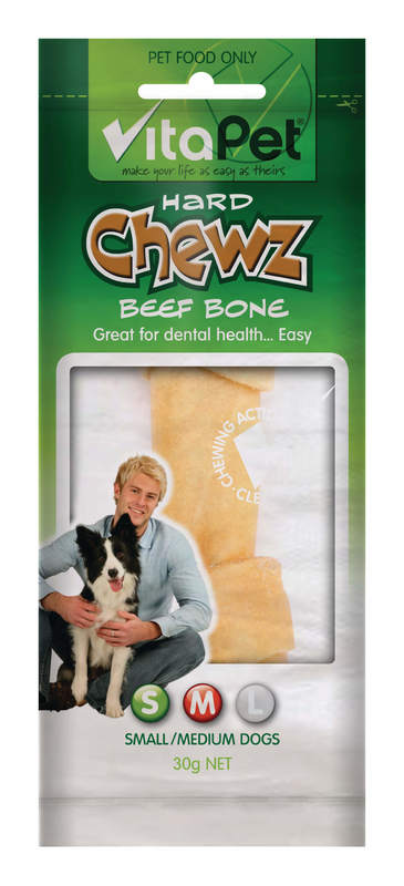 Vitapet: Chewz Beef Bone Small (30g)