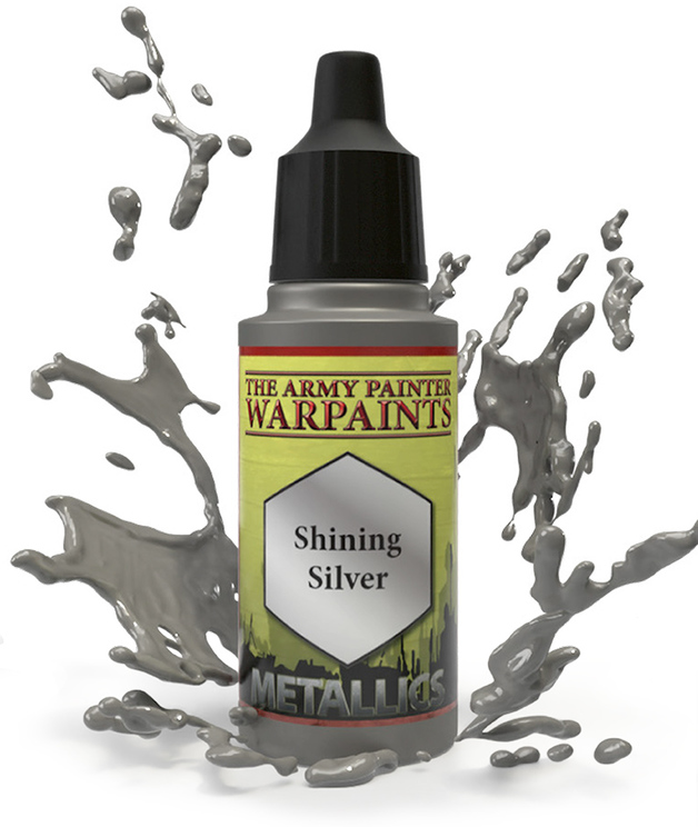 Army Painter: Warpaints - Shining Silver
