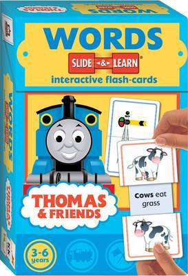 Thomas Slide and Learn Flashcards: Words image