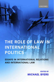 The Role of Law in International Politics image