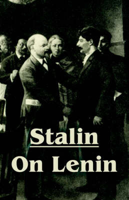 Stalin on Lenin by Joseph Stalin