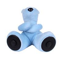 Portable Teddy Bear Speaker (Blue) image