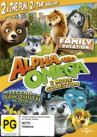 Alpha & Omega: Legend Of The Saw Tooth Cave on DVD