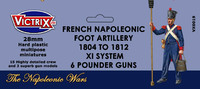 Victrix French Napoleonic Artillery 1804-1812 XI System