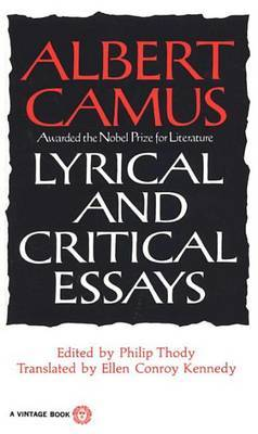 Lyrical and Critical Essays by Albert Camus image