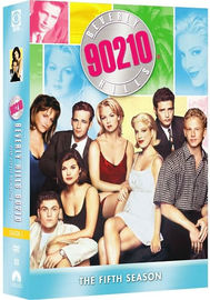 Beverly Hills 90210 - Season 5 (8 Disc Box Set) on DVD image