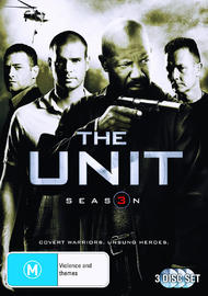 The Unit - Season 3 (3 Disc Set) on DVD
