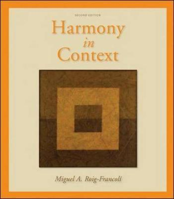 Harmony in Context by Miguel Roig-Francoli