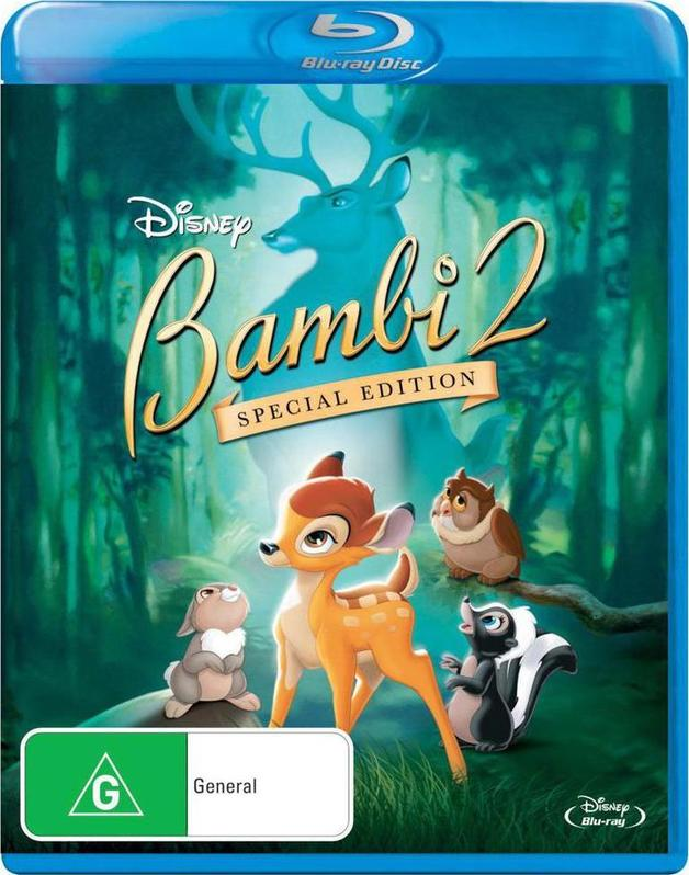 Bambi 2 - Special Edition on Blu-ray