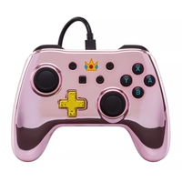 Nintendo Switch Wired iConic Controller - Chrome Peach for Switch