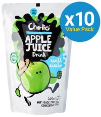 Charlie's Kid's Juices Apple 200ml (10 Pack)