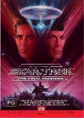 Star Trek 5 - The Final Frontier on DVD