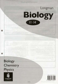 Longman Science 11-14 Answer Book by Chris Workman image