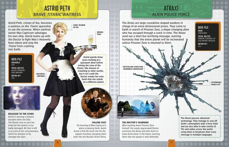 Doctor Who Character Encyclopedia by Annabel Gibson image