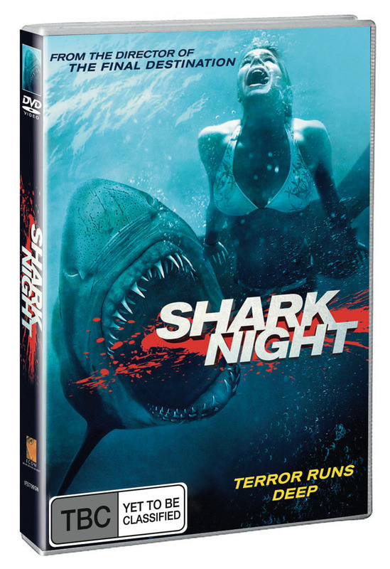 Shark Night on DVD