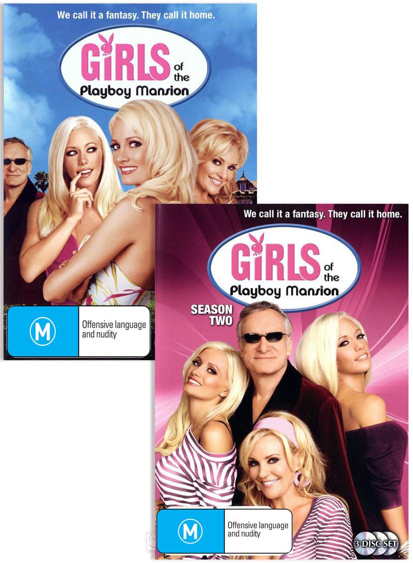 Girls Of The Playboy Mansion - Season 1 & 2 Bundle on DVD image