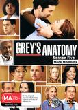Grey's Anatomy - Season 5 on DVD