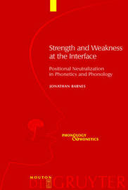 Strength and Weakness at the Interface by Jonathan Barnes